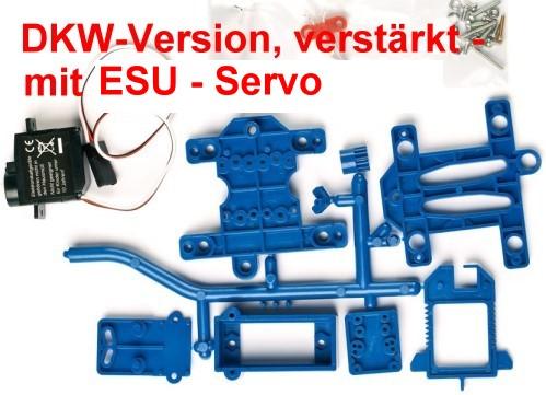 Weichenantrieb für DKW mit ESU Servo - Weinert 74316  | günstig bestellen bei Weinert-Bauteile