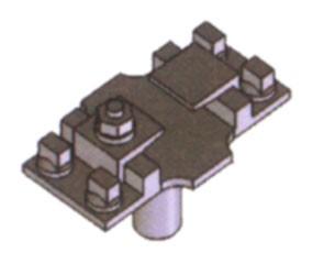 Kleineisen - Rippenplatten Rp16-RP17, das normale Kleineisen für Gleise und Weichen - Weinert 74351  - 40 Stück | günstig bestellen bei Weinert-Bauteile