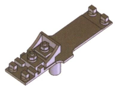 Kleineisen - Rippen- u. Gleitplatten Rp18-Rpg22, für den Gleitbereich der beweglichen Weichenzungen - Weinert 74354  - 14 Stück | günstig bestellen bei Weinert-Bauteile