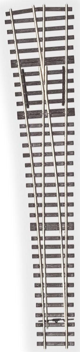 MG Code 75 Weiche 1:6,6 kurz flexibel links - Weinert MeinGleis 74504  | günstig bestellen bei Weinert-Bauteile
