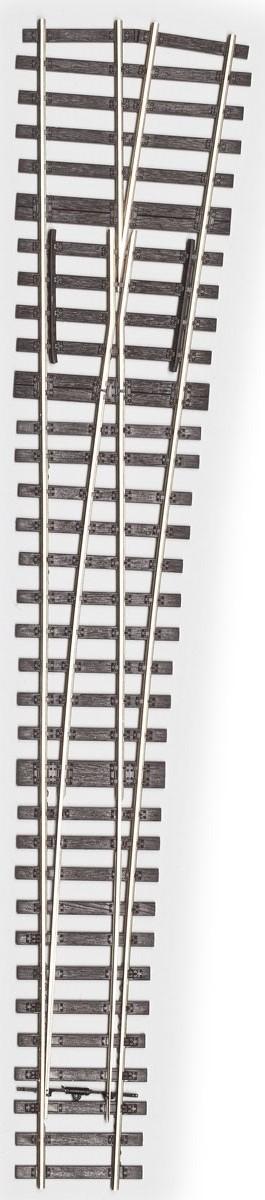 MG Code 75 Weiche 1:6,6 kurz flexibel rechts - Weinert MeinGleis 74505  | günstig bestellen bei Weinert-Bauteile