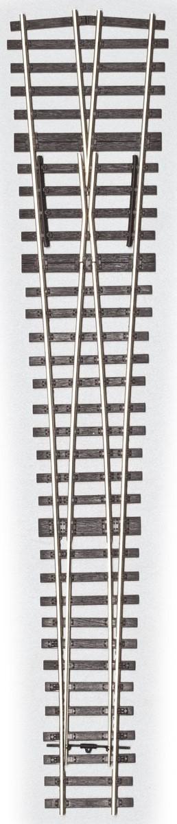 MG Code 75 Weiche 1:6,6 kurz Y-Form - Weinert MeinGleis 74503  | günstig bestellen bei Weinert-Bauteile