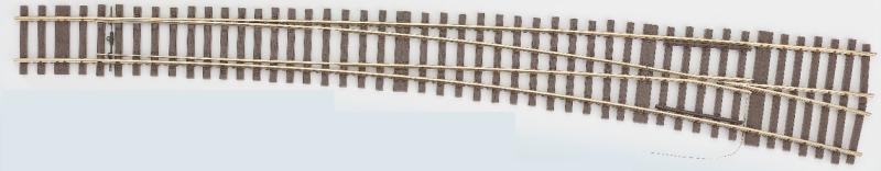 MG Innenbogenweiche 49-190 rechts - Weinert Mein Gleis 74602  | günstig bestellen bei Weinert-Bauteile