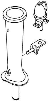 1:87 Schlot für T3, Halter und Läutewerk- Weinert 8024  | günstig bestellen bei Weinert-Bauteile
