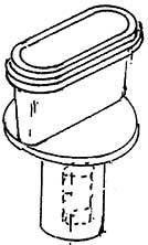 1:87 Flacher Schlot Giesl-Ejektor für BR 50, 1 Stück- Weinert 80271  | günstig bestellen bei Weinert-Bauteile