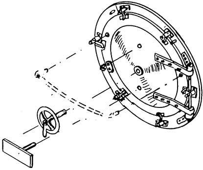 1:87 Rauchkammertür BR 64, BR 86 - Weinert 8053  | günstig bestellen bei Weinert-Bauteile