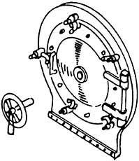 1:87 H0e-H0m Rauchkammertür für Hoya d=13,55mm- Weinert 8069  | günstig bestellen bei Weinert-Bauteile