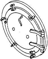 1:87 H0e-H0m Rauchkammertür für BR 99 5906 d=13,5mm- Weinert 8071  | günstig bestellen bei Weinert-Bauteile