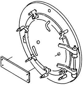 1:87 H0e-H0m Rauchkammertür für BR 99 7239 (1E1) d=19,4mm- Weinert 8076  | günstig bestellen bei Weinert-Bauteile