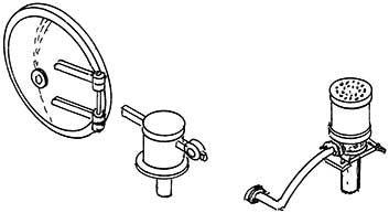 1:87 H0e-H0m Rauchkammertür für Mallet (Ursprung) Sauger für Saugluftbr.,Sicherheitsventile - Weinert 8084  | günstig bestellen bei Weinert-Bauteile