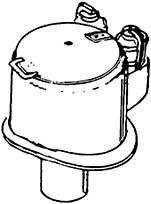 1:87 Dampfdom für BR 71, 64, 24, 86 mit Sicherheitsventilen- Weinert 8104  | günstig bestellen bei Weinert-Bauteile