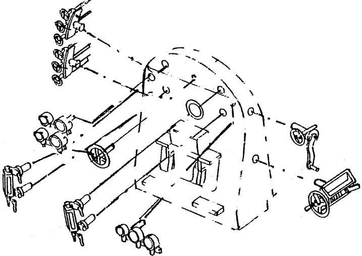 1:87 Führerhaus-Inneneinrichtung für BR 41 Öl- Weinert 81961  | günstig bestellen bei Weinert-Bauteile