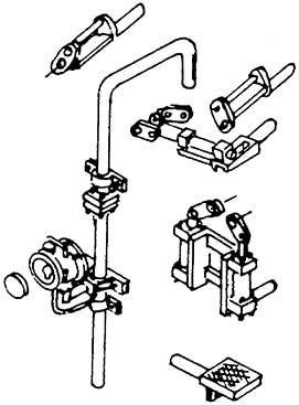 1:87 Armaturen der Öltender-Rückwand BR 01.10, 13-teilig- Weinert 82002  | günstig bestellen bei Weinert-Bauteile