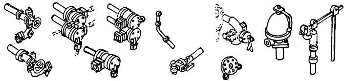 1:87 Armaturensatz BR 74 - Weinert 82008  | günstig bestellen bei Weinert-Bauteile