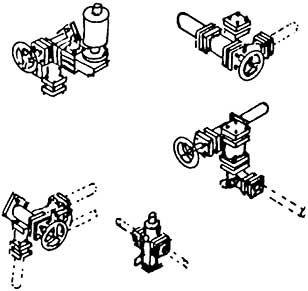 1:87 Kesselventile für Einheitsloks passend für BR 64, BR71 usw.- Weinert 8201  | günstig bestellen bei Weinert-Bauteile