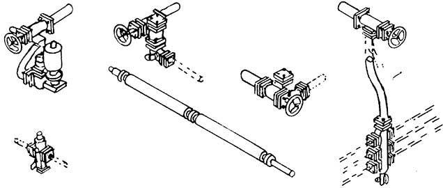 1:87 Kesselventile und Verteilerarmatur für Einheitsschlepptenderloks- Weinert 8202  | günstig bestellen bei Weinert-Bauteile