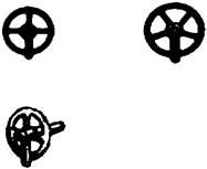 1:87 Handräder mit 4 und 5 Speichen, 8 St. - Weinert 82602  | günstig bestellen bei Weinert-Bauteile