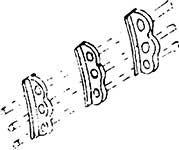 1:87 Regelstangenhalter, dreifach für BR 01 Neubaukessel- Weinert 8270  | günstig bestellen bei Weinert-Bauteile