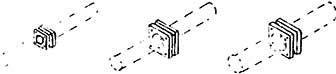 1:87 Vierkant-Rohrflansche, 11 Stck 3 Größen, 4x0,4, 5x0,7, 2x1mm- Weinert 8280  | günstig bestellen bei Weinert-Bauteile