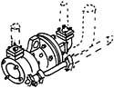 1:87 Turbospeisepumpe BR 65,66,82 - Weinert 84003  | günstig bestellen bei Weinert-Bauteile