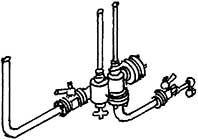 1:87 Stahlpumpe für bay. Loks - Weinert 84008  | günstig bestellen bei Weinert-Bauteile
