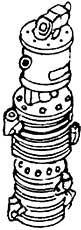 1:87 Luftpumpe zweistufig,Westing- house mit Schleppschieber- steuerung, 1 St., - Weinert 8405  | günstig bestellen bei Weinert-Bauteile