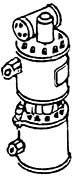 1:87 Luftpumpe einstufig, 1 Stück - Weinert 8419  | günstig bestellen bei Weinert-Bauteile