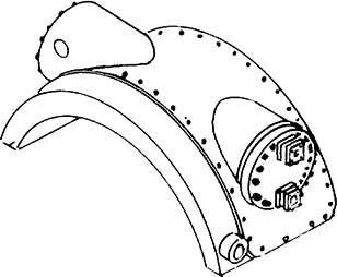 1:87 Oberflächenvorwärmer f. BR 23 1 Stück, Weißmetall- Weinert 8425  | günstig bestellen bei Weinert-Bauteile