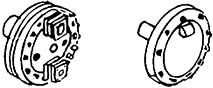 1:87 Oberflächenvorwärmer Detail- lierungsplatten rechts+links mit Flanschen für BR 03 WM - Weinert 8426  | günstig bestellen bei Weinert-Bauteile