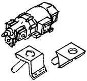 1:87 Turbogenerator Bauart AEG mit 2 verschiedenen Sockeln- Weinert 84502    günstig bestellen bei Weinert-Bauteile