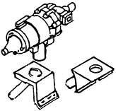 1:87 Generator mit 2 Befestiguns- winkeln, 1 Stück- Weinert 8456  | günstig bestellen bei Weinert-Bauteile