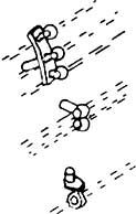 1:87 Griffstangen- und Regel- stangenhalter, 2 Stück- Weinert 8464  | günstig bestellen bei Weinert-Bauteile