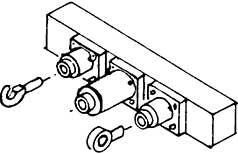 1:87 H0e-H0m Pufferbohle für Schmalspurfahrzeuge, 2 Stück,- Weinert 8496  | günstig bestellen bei Weinert-Bauteile