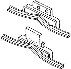 1:87 H0e-H0m Schienenräumer für Hoya, 2 Stück- Weinert 8556  | günstig bestellen bei Weinert-Bauteile