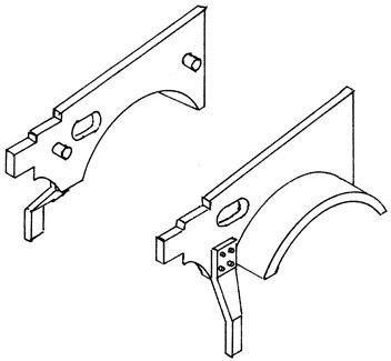1:87 Vorschuh für BR 01 Altbau mit kleinen Vorlaufrädern, 1 Satz - Weinert 85604    günstig bestellen bei Weinert-Bauteile