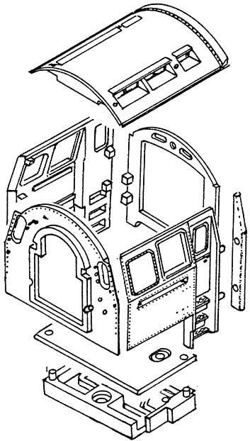 1:87 Führerhaus BR 03.10, BR 01.10 Weißmetall- Weinert 85651  | günstig bestellen bei Weinert-Bauteile