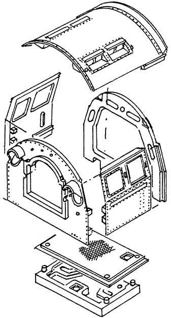 1:87 Einheits-Führerhaus BR01, 03, 41, 44 und BR 50 - Weinert 85652  | günstig bestellen bei Weinert-Bauteile