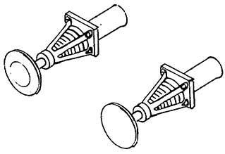 1:87 Korbpuffer 4-fach geschlitzt, ungefedert- Weinert 8611  | günstig bestellen bei Weinert-Bauteile