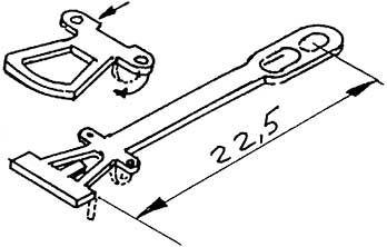 1:87 Kupplung geätzt 22,5mm - Weinert 86203  | günstig bestellen bei Weinert-Bauteile