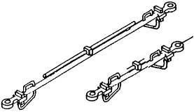 1:87 H0e-H0m Kuppelstangen für Schmalspur-Rollwagen, 2 x 20mm, 2 x 32mm - Weinert 86205  | günstig bestellen bei Weinert-Bauteile