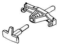 1:87 H0e-H0m Mittelpufferkupplung mit Zughaken für Frank S, 2 Stück - Weinert 8621  | günstig bestellen bei Weinert-Bauteile