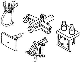 1:87 H0e-H0m Balancierkupplung, Bremsschläuche, Läutewerk, 1 Satz - Weinert 86212  | günstig bestellen bei Weinert-Bauteile