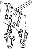 1:87 H0e-H0m Doppelhakenkupplung beweglich, Bausatz, 1 Paar- Weinert 86214  | günstig bestellen bei Weinert-Bauteile