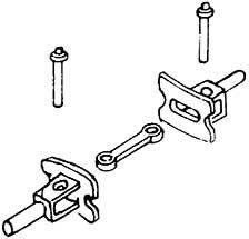 1:87 H0e-H0m Trichterkupplung mit Haken für Schmalspurfahrzeuge, eckig, 2 Stück - Weinert 8622  | günstig bestellen bei Weinert-Bauteile