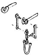 1:87 H0e-H0m Originalkupplung für Schmalspurfahrzeuge, beweglich 2 Stück fertig montiert - Weinert 8626  | günstig bestellen bei Weinert-Bauteile