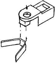 1:87 NEM-Kupplungsaufnahme mit Bronzefedern zum Anschrauben 1 Stück - Weinert 8651  | günstig bestellen bei Weinert-Bauteile