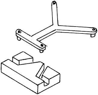 1:87 Kurzkupplungsbügel m. Kulisse für Tender 4047 und Roco BR 57 1 Stück - Weinert 8652  | günstig bestellen bei Weinert-Bauteile