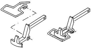 1:87 Bügelkupplung zu Einstecken in die Pufferbohle, 2 Stück- Weinert 86565  | günstig bestellen bei Weinert-Bauteile
