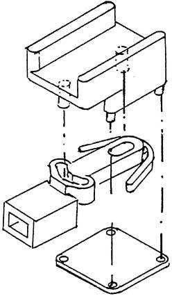 1:87 Kurzkupplungsaufnahme für z.B. BR 87, 1 Paar- Weinert 86568  | günstig bestellen bei Weinert-Bauteile