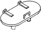 1:87 Manndeckel für Tender 2�2�T32, 3 St. - Weinert 86608  | günstig bestellen bei Weinert-Bauteile